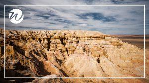 Bayanzag Flaming Cliffs, Gobi Desert
