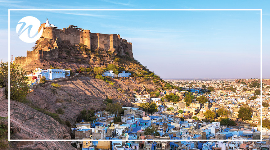 Asia travel recommendations - Jodhpur - the blue city and Mehrangarh Fort
