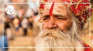 Asia travel recommendations, Sadhu on the banks of the Ganges