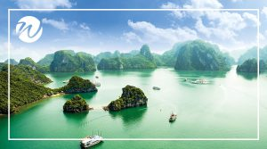Asia travel recommendations - the Descended Dragon - Halong Bay