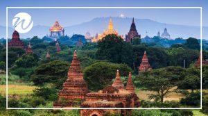 Archaeological wonders of Bagan, Asia bucket list