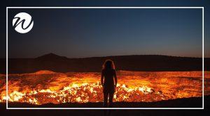Blazing Darvaza Crater, Turkmenistan, Asia bucket list