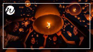 Yi Peng Festival, Chiang Mai, Asia bucket list