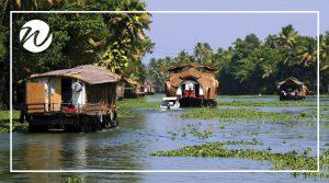 Rice barge houseboats of Kerala, Asia bucket list