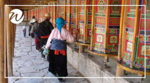Colourful Labrang Monastery, Asia bucket list
