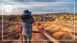 Stunning Danxia National Geological Park, Asia bucket list