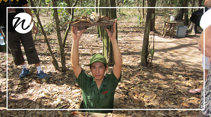 Vietnam's historic sites, Secrets of the Cu Chi Tunnels