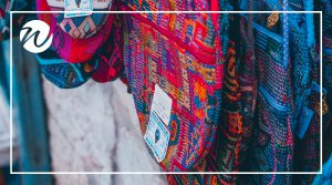 Hand woven bags, South American souvenirs