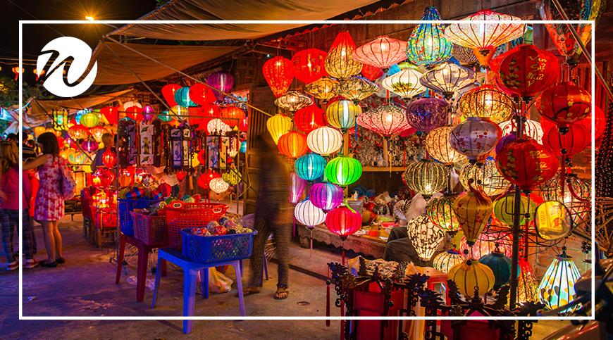Lanterns aplenty in Hoi An old town