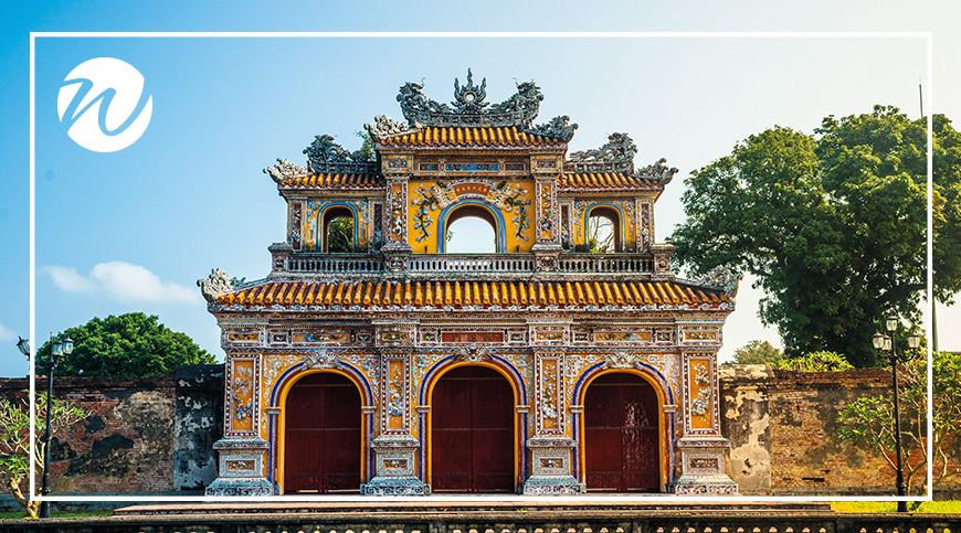 Restored glory of the Imperial Citadel, Hue