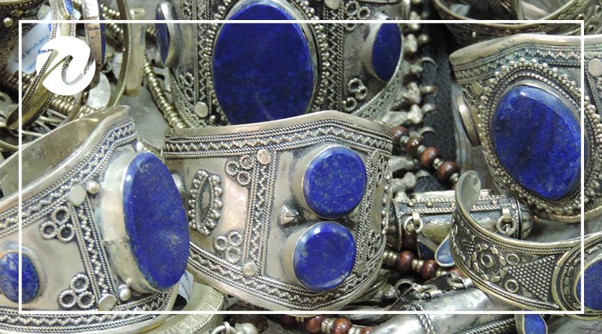 Lapis Lazuli jewelry, Chile