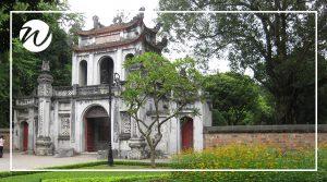 Temple of Literature, Hanoi, historic sites of Vietnam