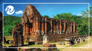 Cham Ruins at My Son, historic sites of vietnam