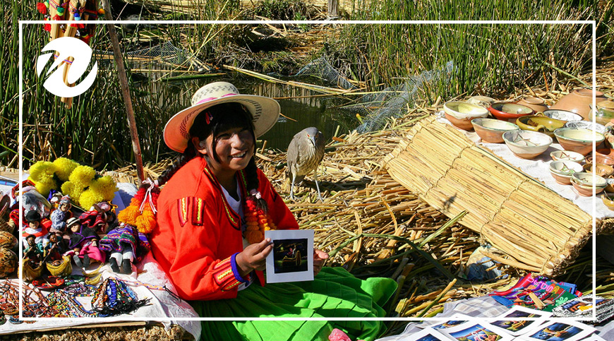 The Uros people of Lake Titicaca