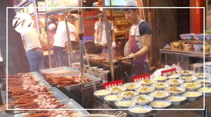 Street food prepared fresh!