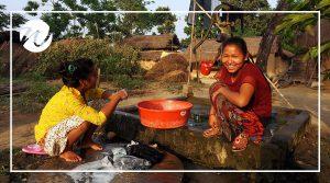 Friendly locals in Nepal