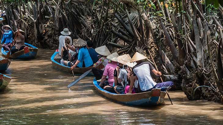 Wooden Sampan Boat Tour