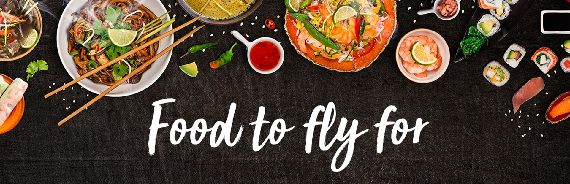 Food to Fly For