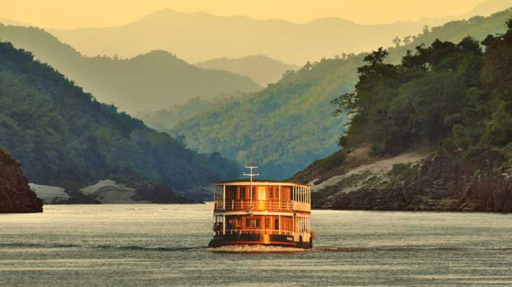 Pandaw River Cruise Mekong