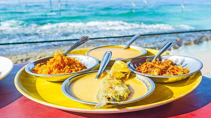 Local Sri Lankan Food