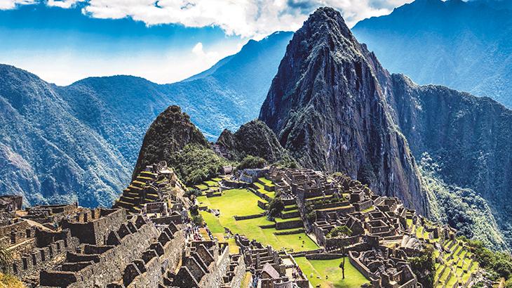 A South American treasure, Machu Picchu