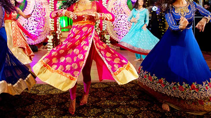 traditional Indian dancing