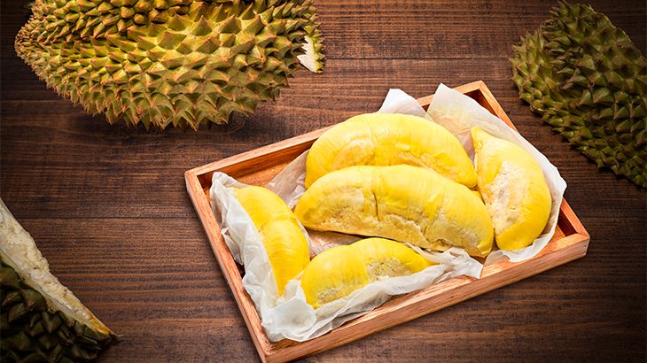 Durian on Display