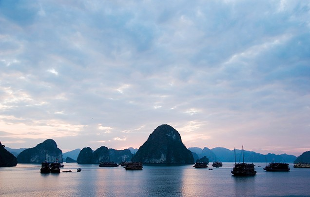 Days 14-15: Halong Bay