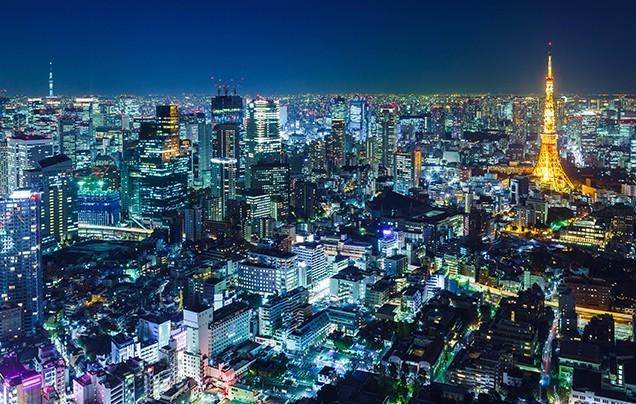 Day 1: Arrive Tokyo