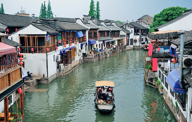 Day 14: Zhujiajiao water town