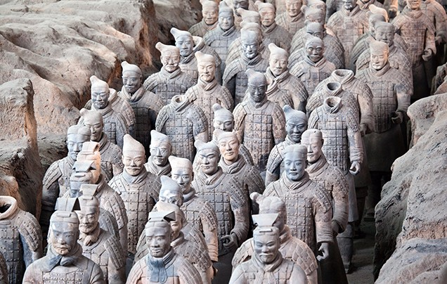 DAY 9: TERRACOTTA WARRIORS
