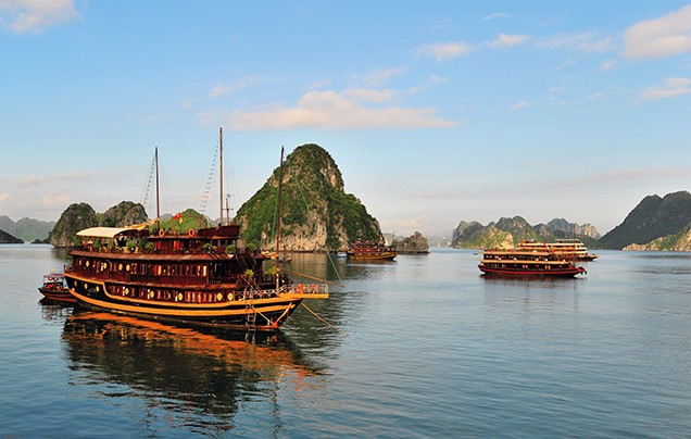 Days 7-8: Cruise Halong Bay