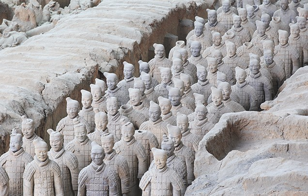 Day 6: Terracotta Warriors