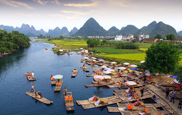 DAY 4: FLY TO GUILIN