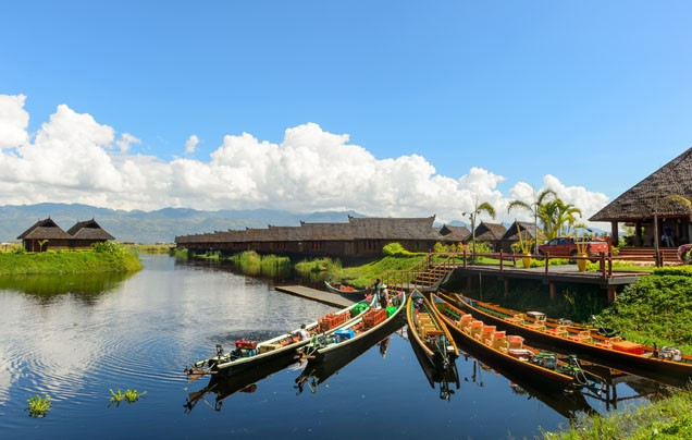 Day 1 - Arrive Inle Lake