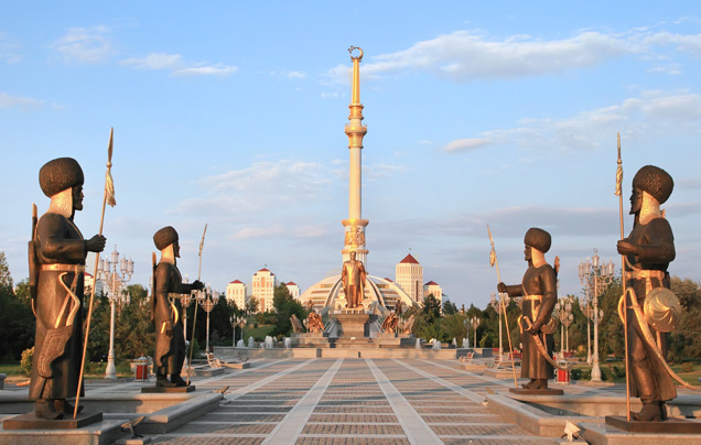 DAYS 3: EXPLORE ASHGABAT