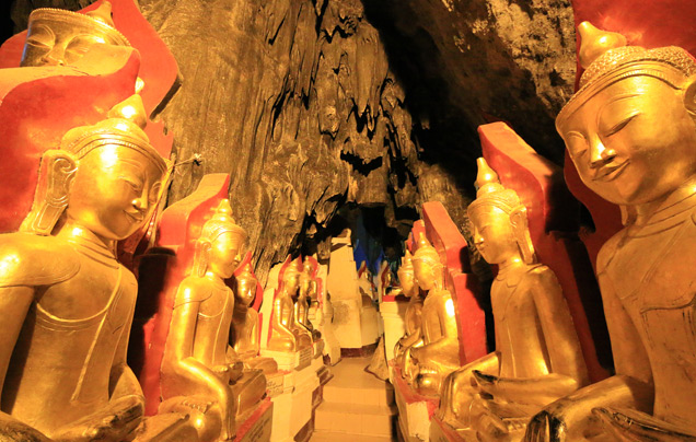 DAY 7: PINDAYA CAVES