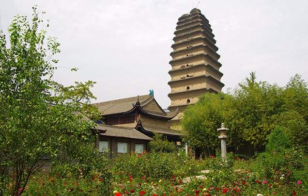 Day 4: Little Wild Goose Pagoda