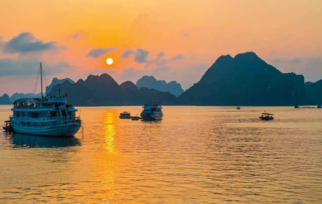 Day 11: Sunrise over Halong Bay