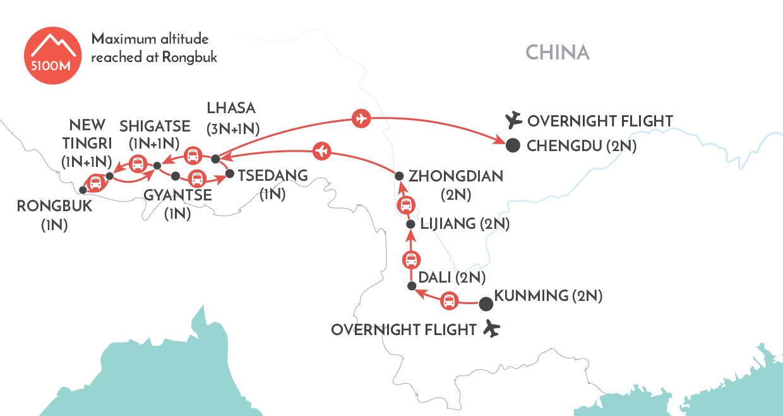 Tibetan Wonders   China Discovery Tour   Wendy Wu Tours
