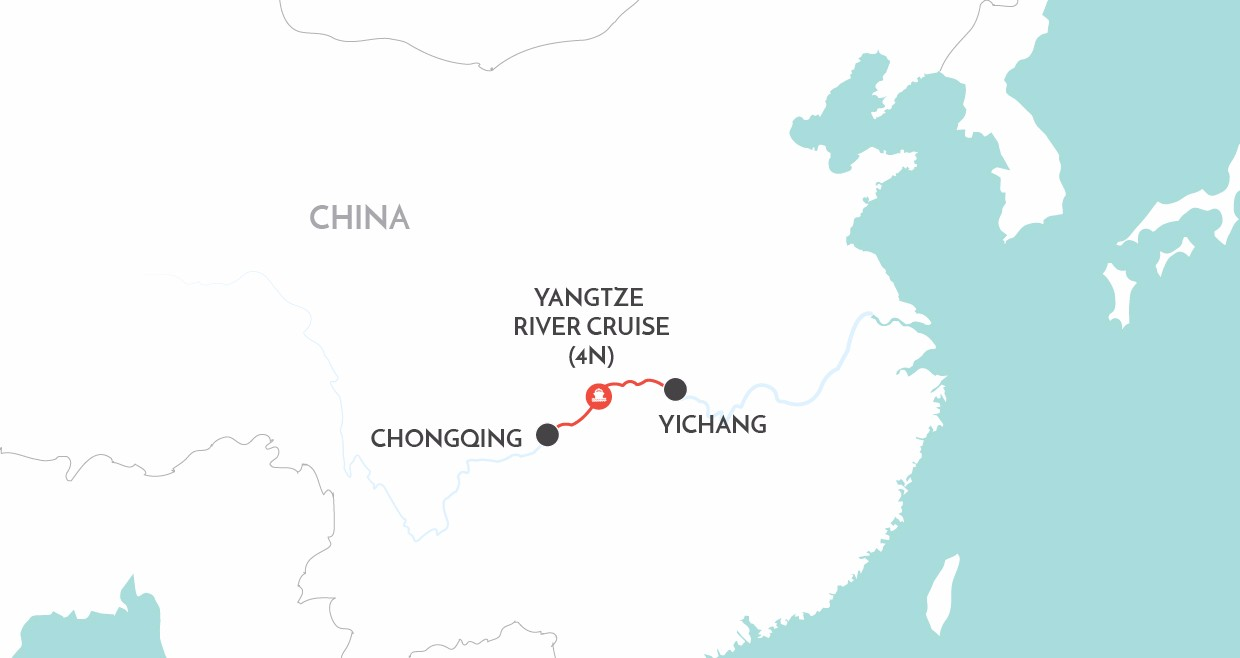 Pure Yangtze map