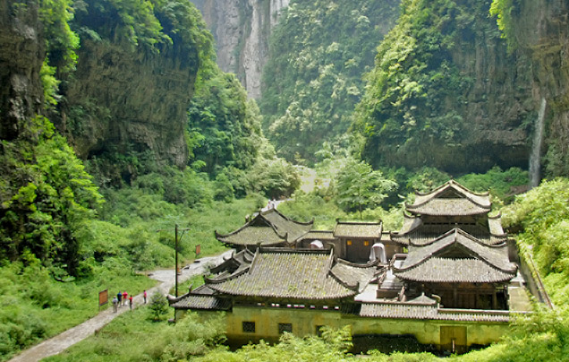 Day 11: Wulong - Heishan Valley – Chongqing