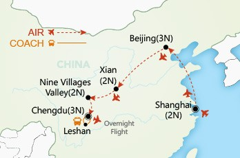 China Splendour map