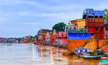Ghats on River Ganges