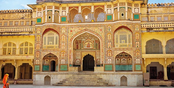 Visit Amer Fort by night and dine inside the fort's highest ramparts