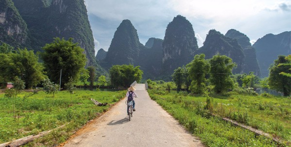Cycle in Yangshuo and Dali